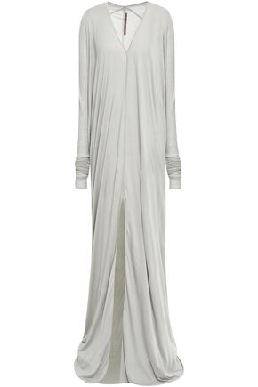 RICK OWENS LILIES Split-front jersey gown