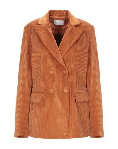 Фото - Женский пиджак  ржаво-коричневого цвета