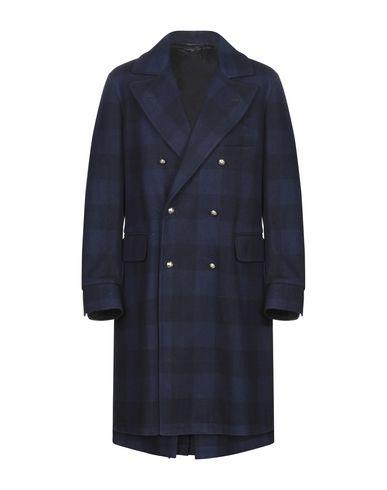 Фото - Мужское пальто или плащ FORTELA темно-синего цвета