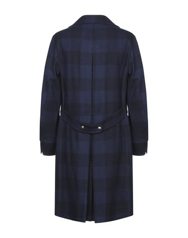 Фото 2 - Мужское пальто или плащ FORTELA темно-синего цвета