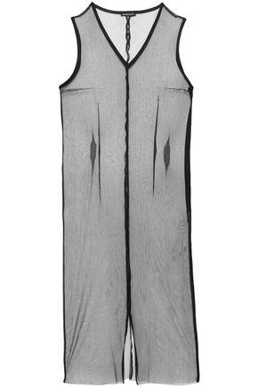 ANN DEMEULEMEESTER Silk-blend tulle dress