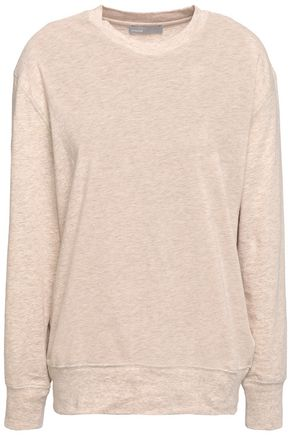 VINCE. Cotton and wool-blend jersey top