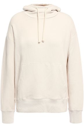 VINCE. French cotton-terry hoodie