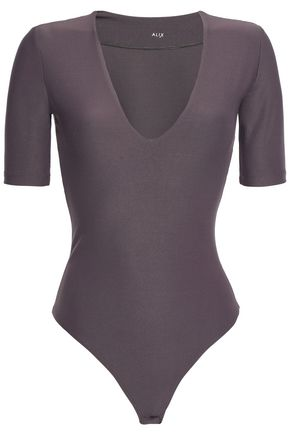 ALIX NYC Ludlow stretch-jersey thong bodysuit