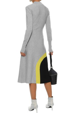 NOVIS The Arlo wool-blend jacquard midi dress