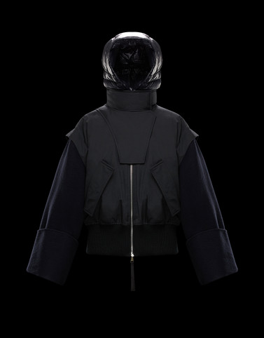 ELORN Black Jackets & Coats