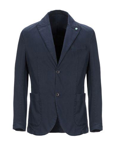Фото - Мужской пиджак BARBATI темно-синего цвета