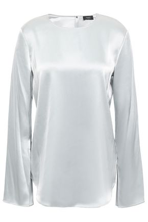 THEORY Charmeuse blouse