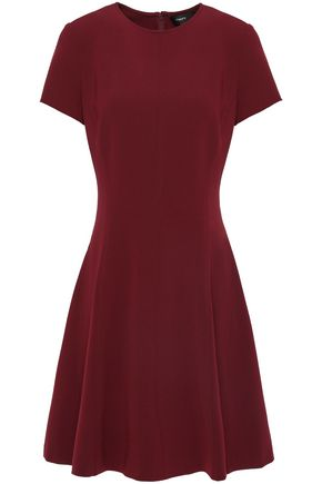 THEORY Flared crepe dress