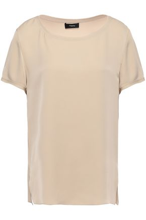 THEORY Silk T-shirt