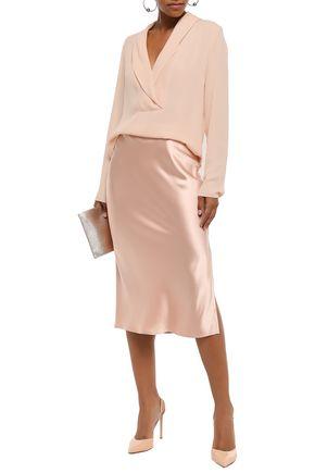 THEORY Silk crepe de chine blouse