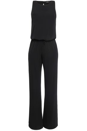 THEORY Midrelle stretch-ponte jumpsuit