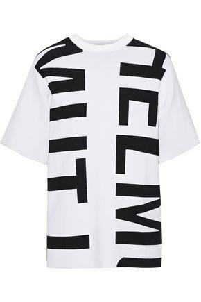 HELMUT LANG Jacquard-knit T-shirt