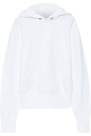HELMUT LANG French cotton-terry hoodie