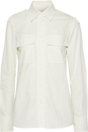HELMUT LANG Cotton-blend twill shirt
