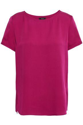 THEORY Silk T-shirt