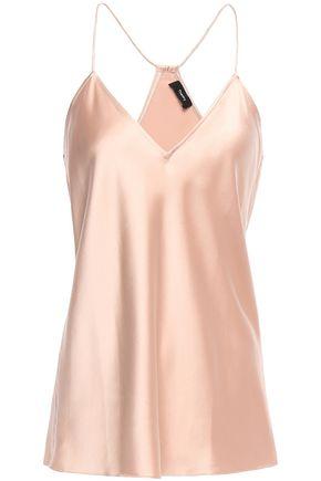 THEORY Silk-satin camisole