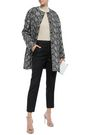 GIAMBATTISTA VALLI Metallic embroidered tweed coat