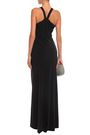 HALSTON HERITAGE Stretch-crepe gown