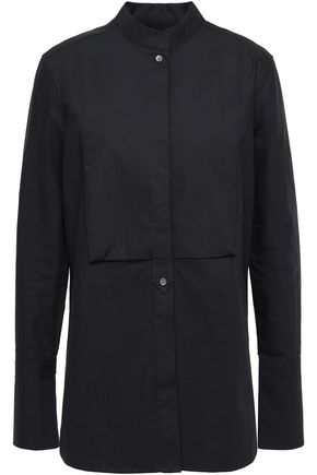 EQUIPMENT Beale paneled cotton-poplin shirt