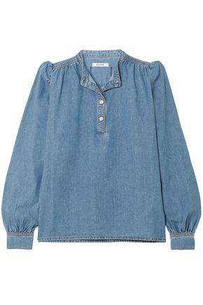 GANNI Denim blouse