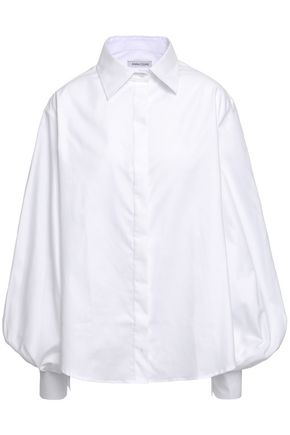 ANNA QUAN Adagio cotton-twill shirt