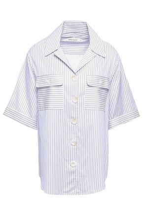 ANNA QUAN Dolly striped cotton shirt