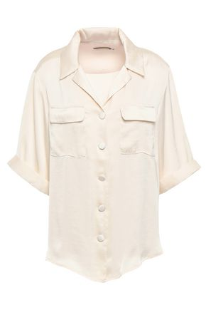 ANNA QUAN Kelly satin shirt