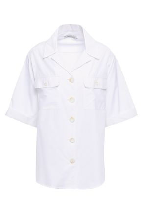ANNA QUAN Dolly cotton-poplin shirt