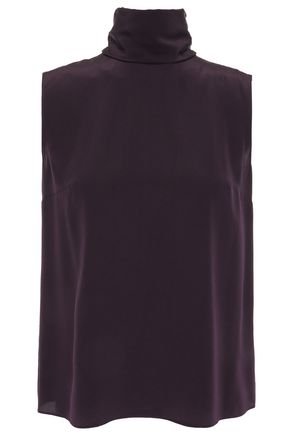 ROKSANDA Silk-satin crepe top