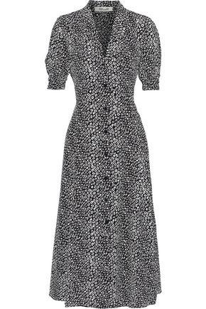 DIANE VON FURSTENBERG Lily printed silk midi dress