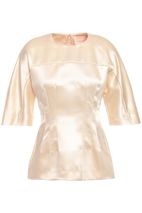 ROKSANDA Silk-satin top