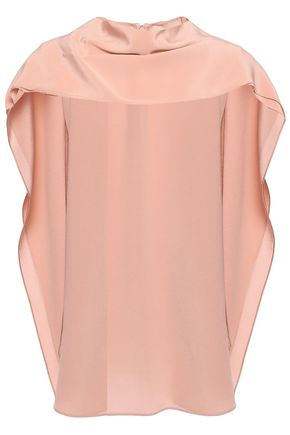 ROKSANDA Tie-neck silk crepe de chine top