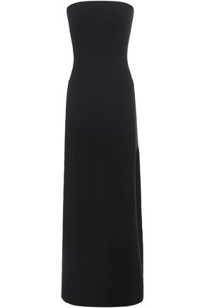 ESTEBAN CORTAZAR Strapless knitted maxi dress