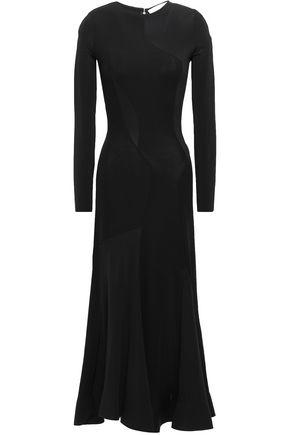 ESTEBAN CORTAZAR Fluted crepe-jersey midi dress