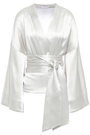 Satin Kimono by Galvan  London