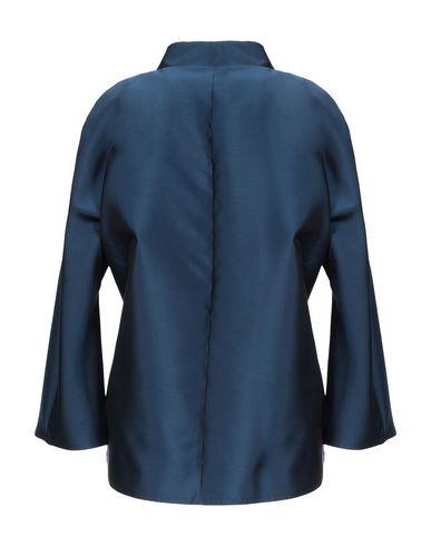 Фото 2 - Женский пиджак BOTONDI MILANO темно-синего цвета