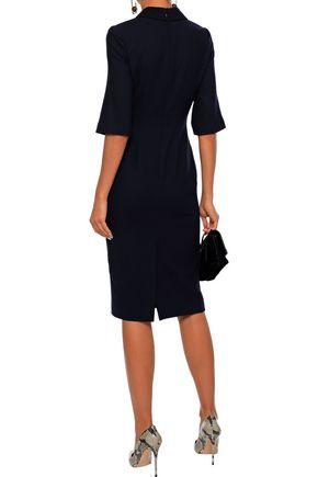 GOAT Hamlet wool-crepe dress
