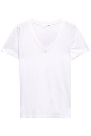 FRAME Cotton-jersey T-shirt
