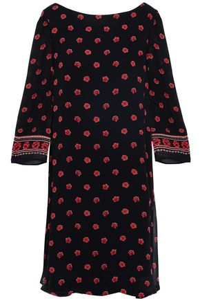 CLAUDIE PIERLOT Rififi Fleurs floral-print georgette dress