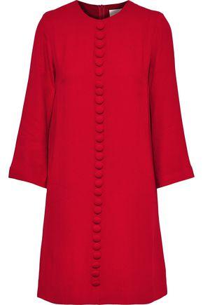 GOAT Houston button-embellished crepe mini dress