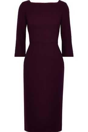 GOAT Marcelle wool-crepe dress