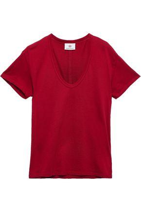 AG JEANS Cotton-jersey T-shirt