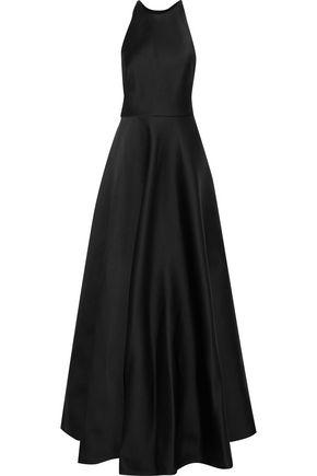 JASON WU Flared satin-crepe gown