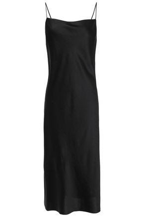 FILIPPA K Satin midi slip dress