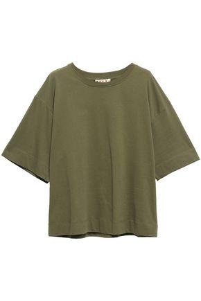 MARNI Cotton-blend jersey T-shirt