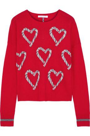 DUFFY Jacquard cashmere sweater