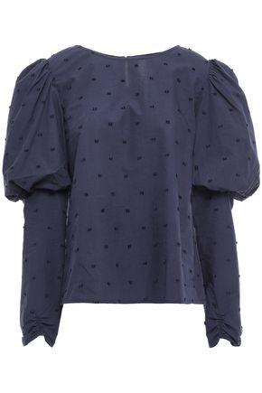 """MERLETTE بلوزة """"كيرالا"""" من قماش البوبلين القطني مخيطة بأسلوب فيل كوبيه"""