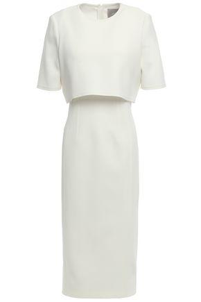 JASON WU Layered crepe midi dress