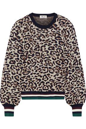 BAUM UND PFERDGARTEN Cadila metallic leopard-jacquard sweater